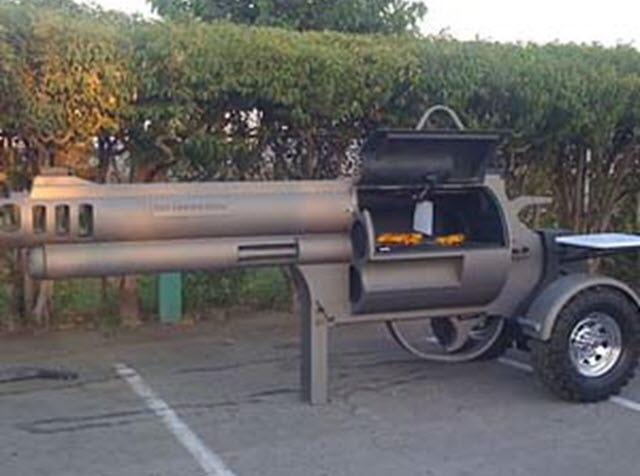 barbecue trailer
