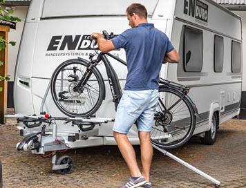 oprijgot dissel fietsendrager camper