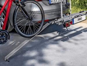 laadramp Eufab fietsdrager