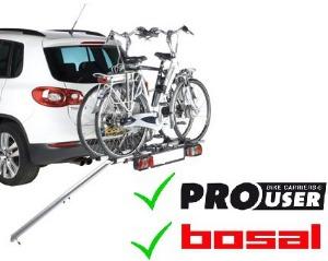 fietsendrager met oprijgoot geschikt voor Po User Diamant, Bosal Tourer en Oris Tourer