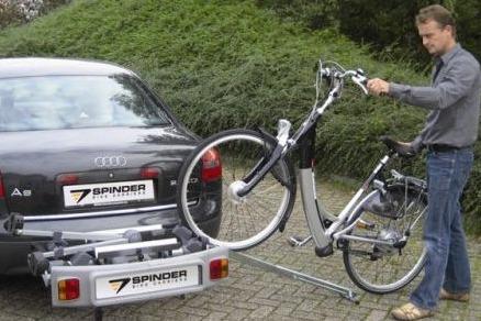 gootje Spinder fietsdrager